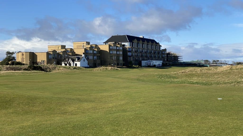 17th fairway and old course hotel, St. Andrews