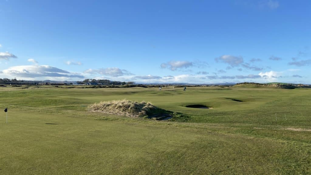 golf at the old course, st. andrews