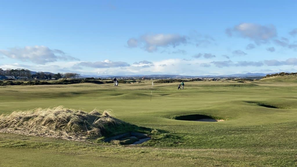 golfers at the old course, St. Andrews