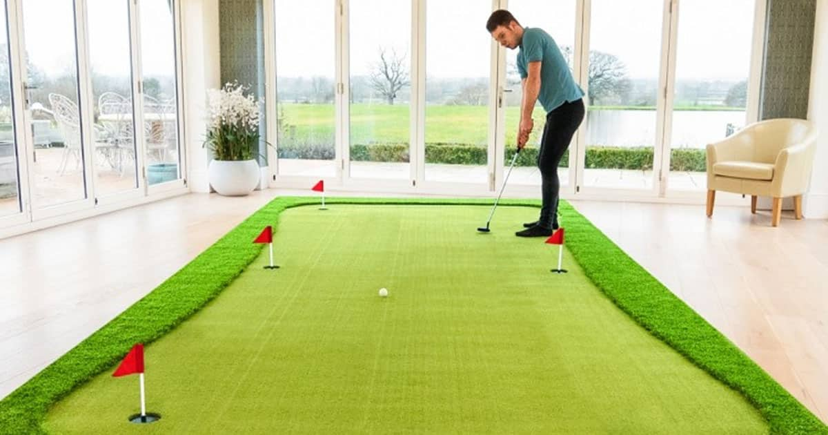 best indoor putting greens