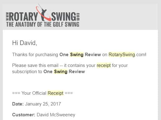 Rotary Swing swing review