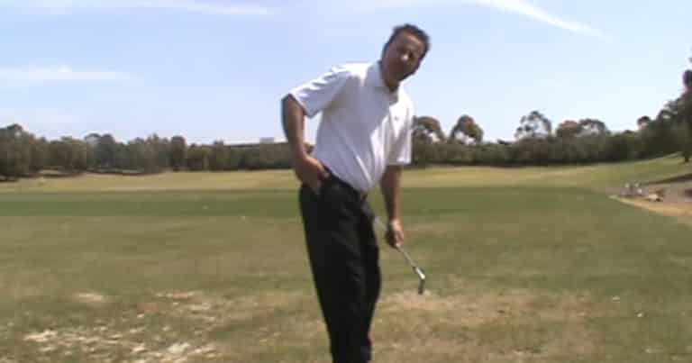 how to turn hips in golf swing