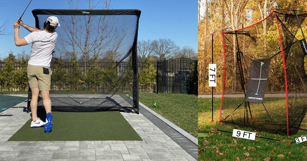 golf hitting nets