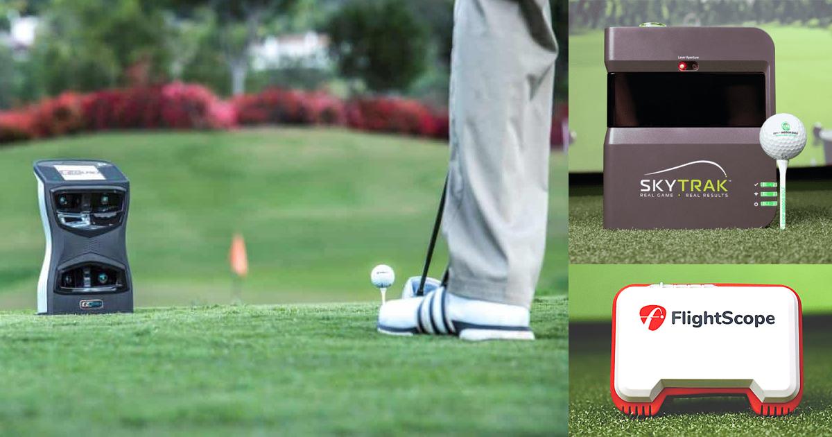golf launch monitors