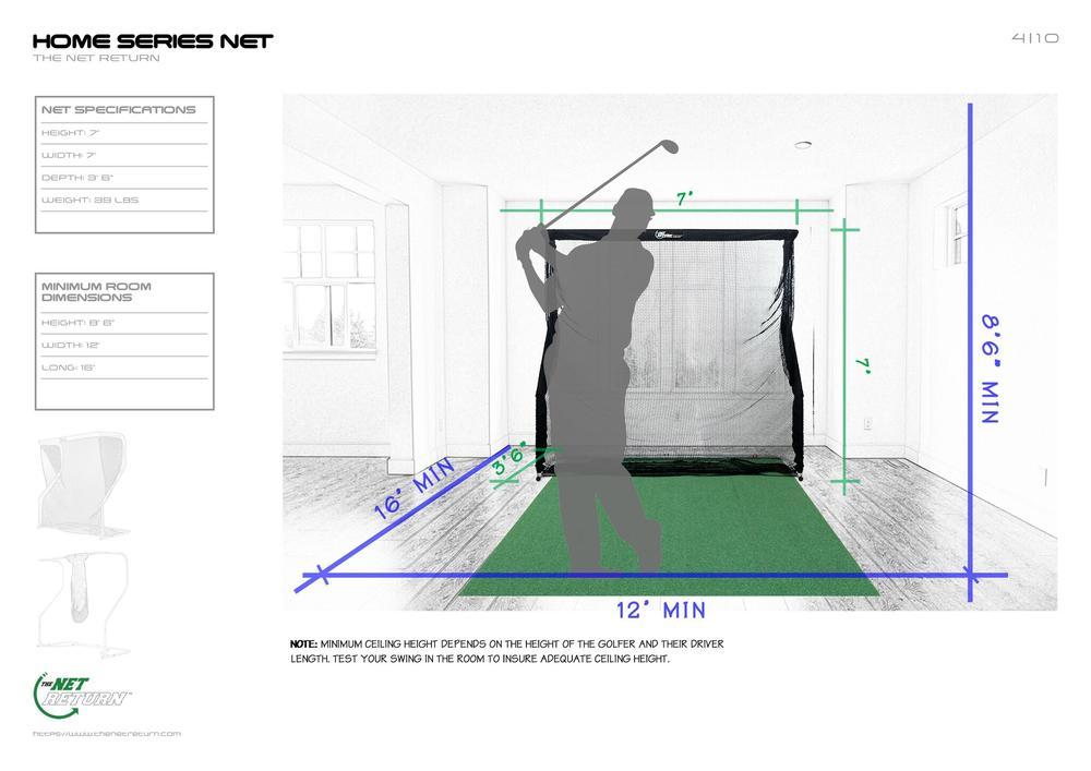 net return home dimensions